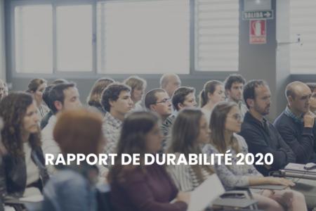 Rapport sur le développement durable 2020